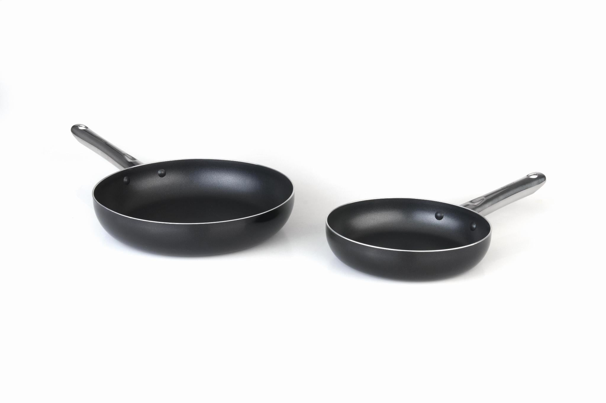 Earthchef Boreal Non-Stick 2 Piece Aluminium Frying Pans