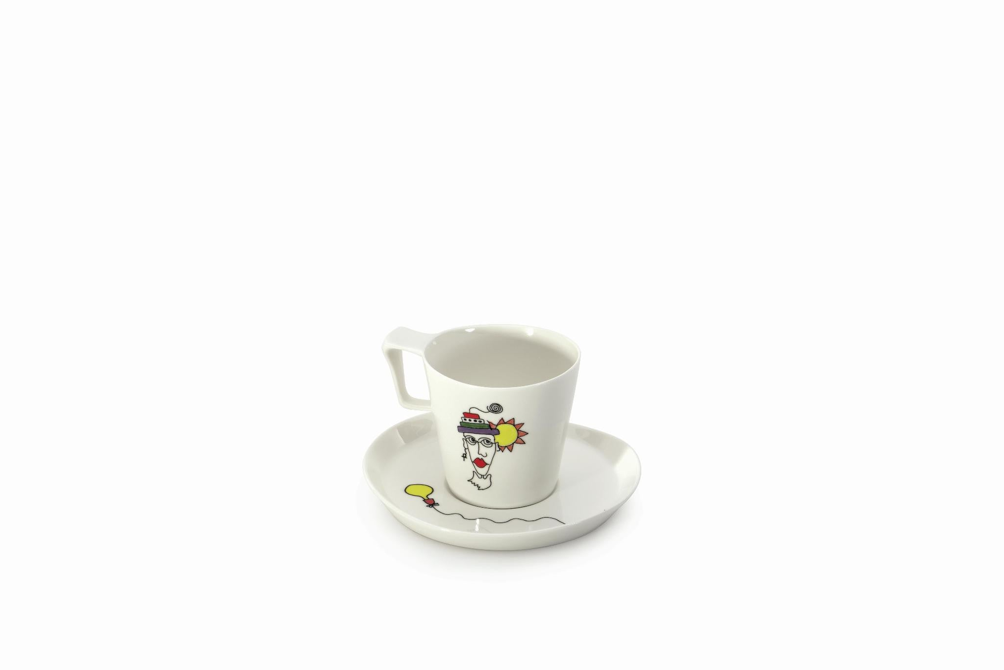 Eclipse Set of 2 0.4L Breakfast Cup & Saucers