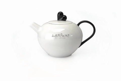 Lover by Lover White Porcelain Teapot