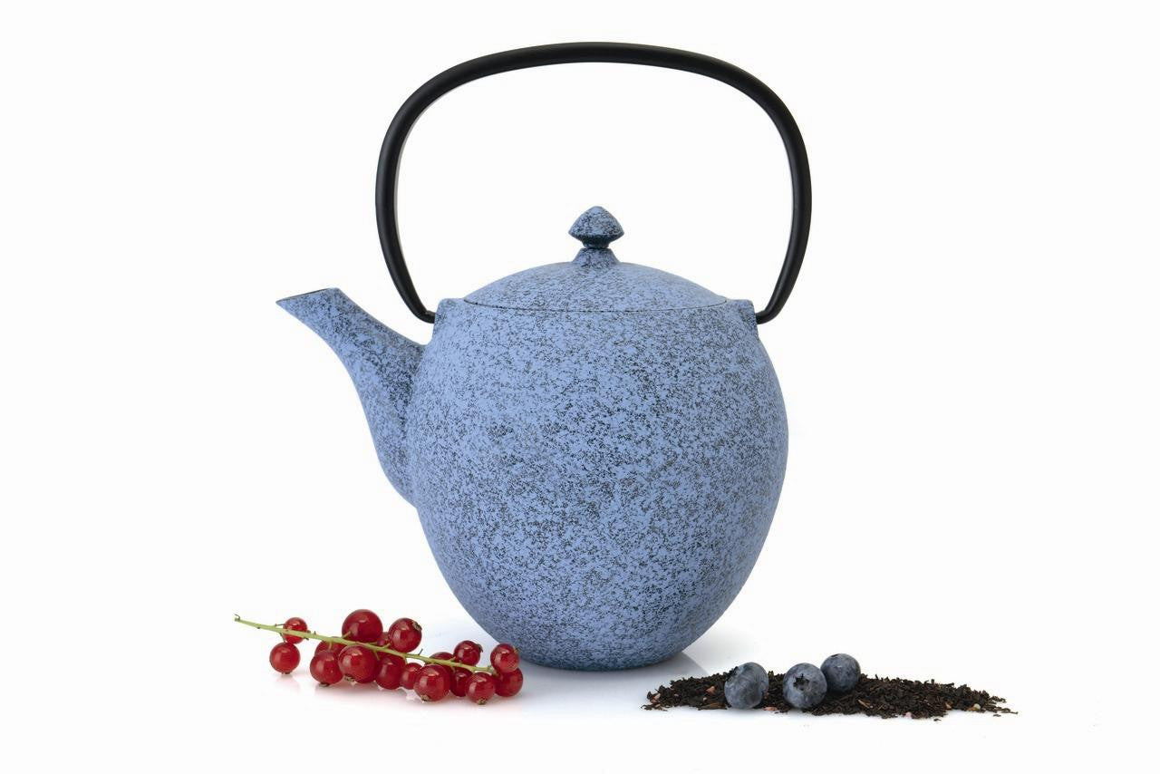 Studio Blue Cast Iron Teapot 1.1L
