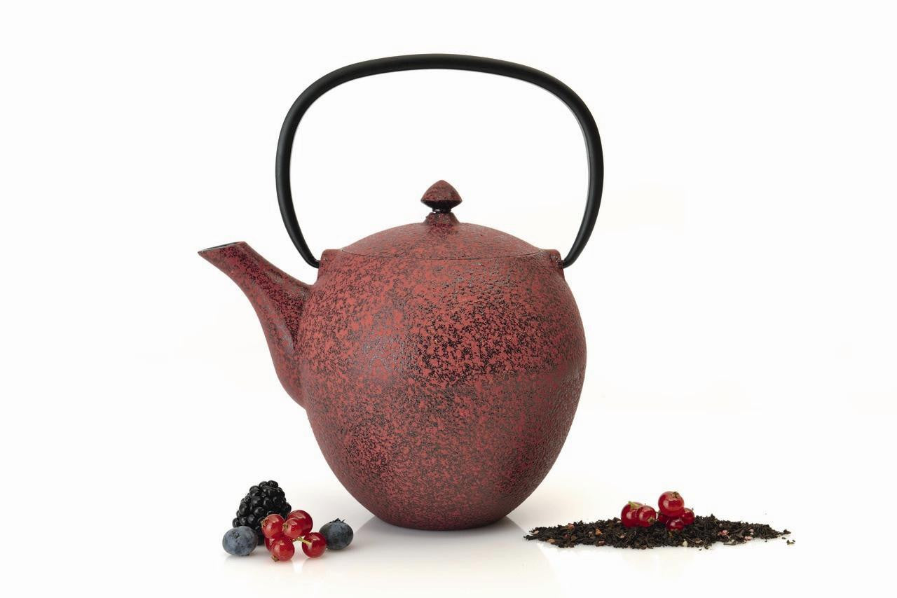 Studio Red Cast Iron Teapot 1.1L