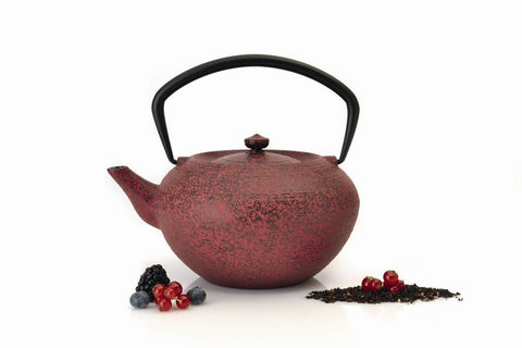 Studio Red Cast Iron Teapot 1.3L