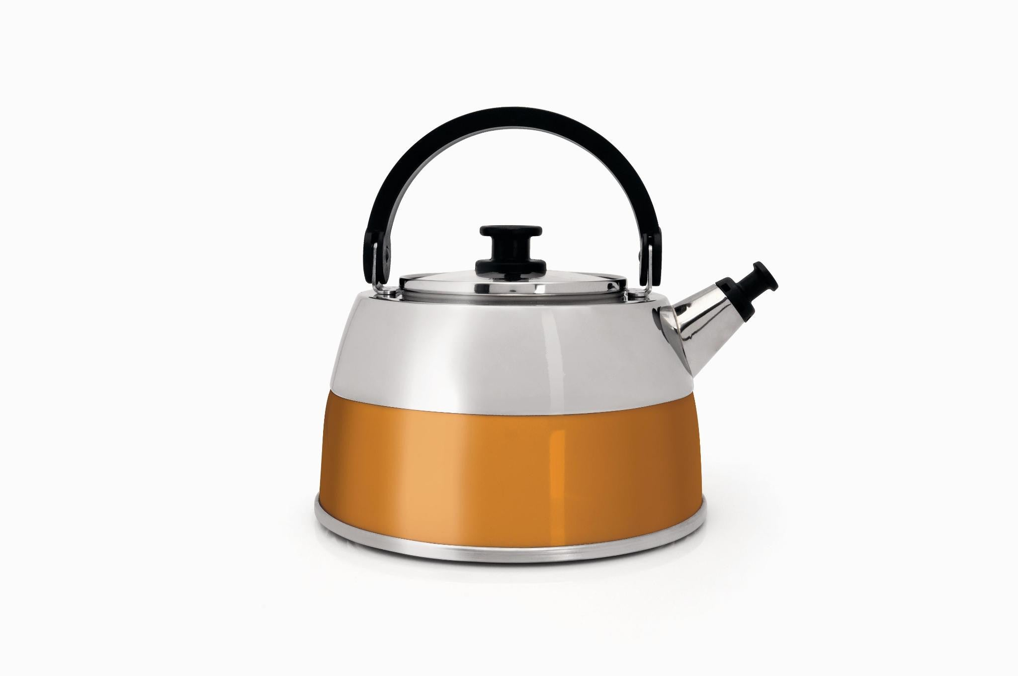 Virgo Orange Whistling Kettle