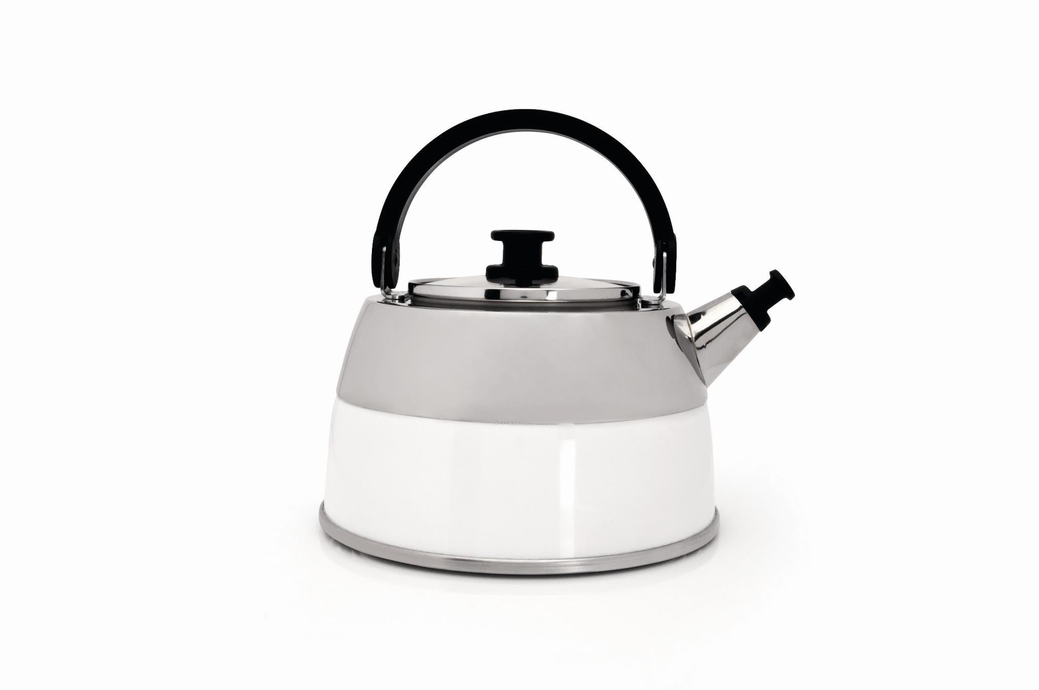 Virgo White Whistling Kettle