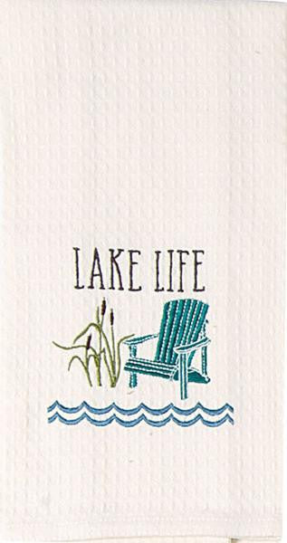 Lake Life Dish Towel For The Love Of Dogs For The Love Of Dogs Shopping For A Cause
