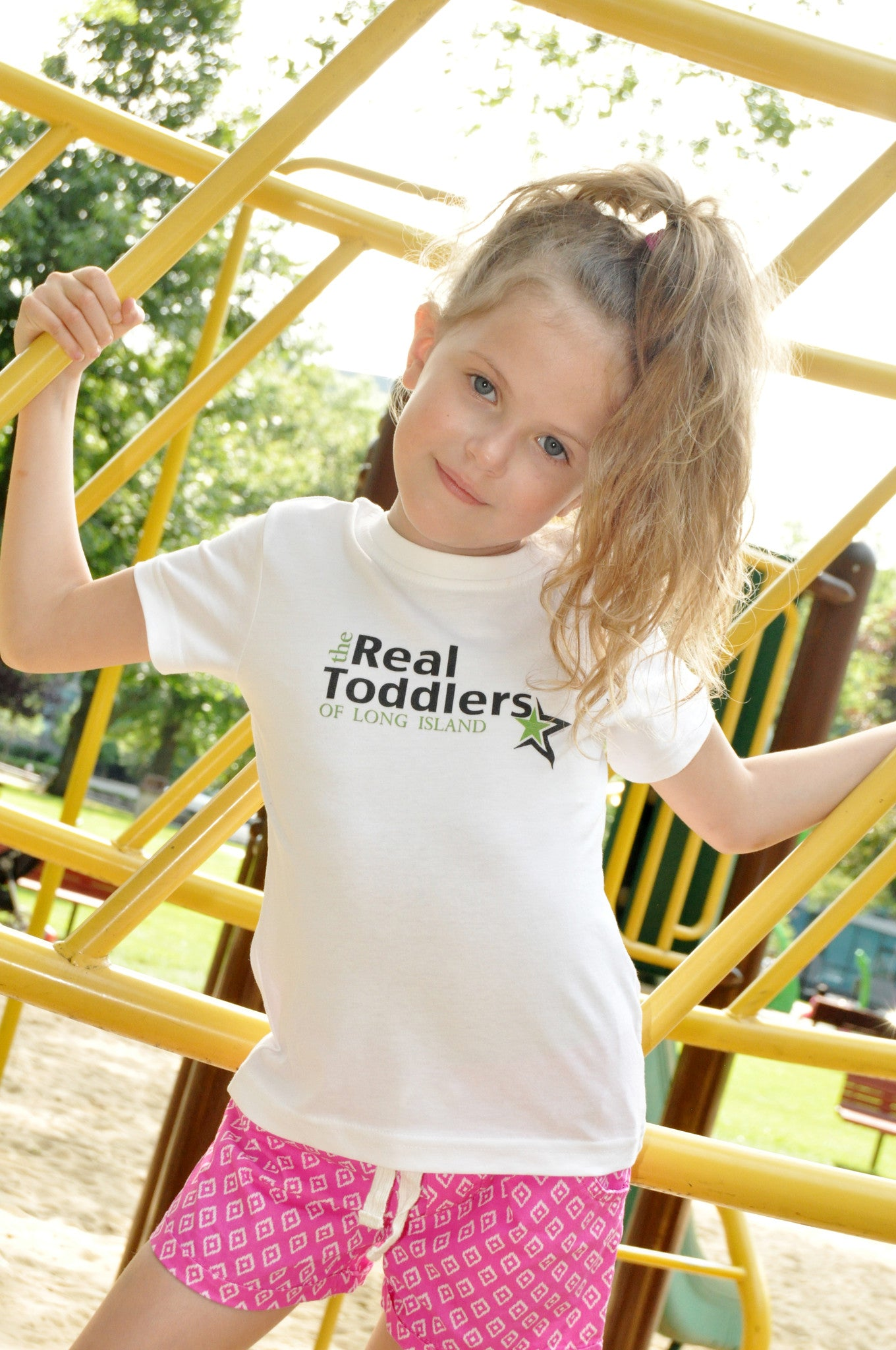 """The Real Toddlers of LONG ISLAND"" T Shirt For Toddlers and Young Girls"
