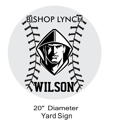 Baseball - Yard Sign