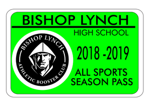 Athletic Booster Club Season Pass Packages