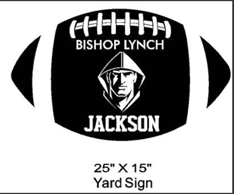 Football - Yard Sign