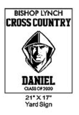 Cross Country - Yard Sign