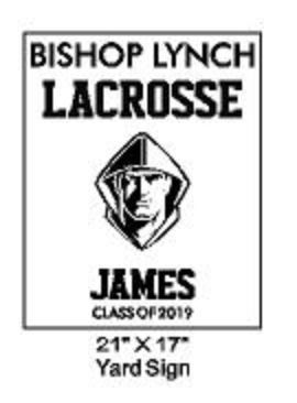 Lacrosse - Yard Sign