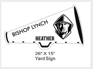 Cheer - Yard Sign
