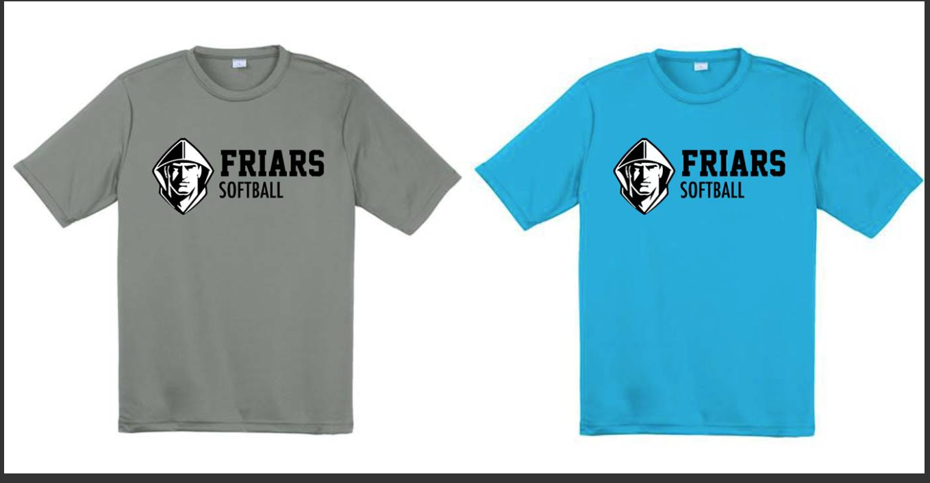 Softball - Practice Shirts (REQUIRED)