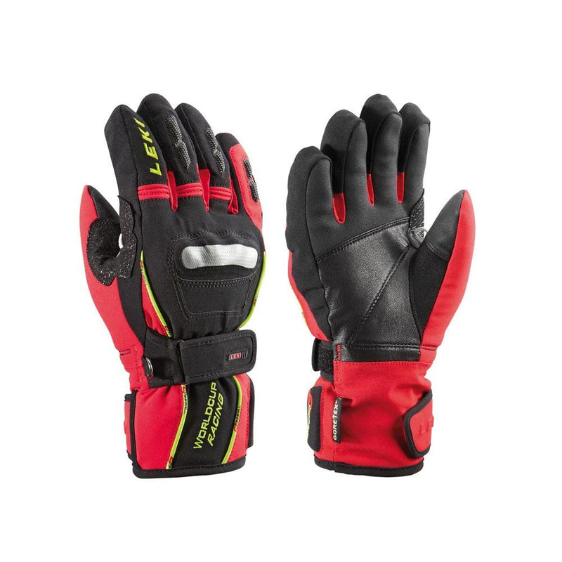 Leki World Cup Jr GTX Trigger S Black/Red Gloves