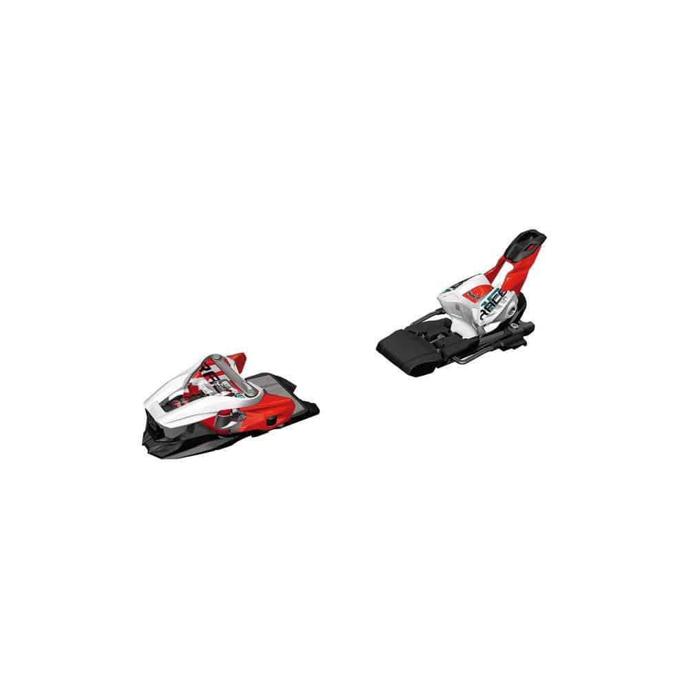 Marker Race Xcell 18 White/Flo Red