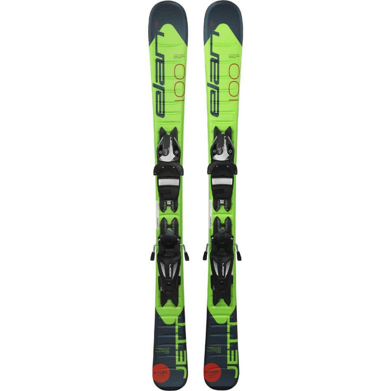 2020 Elan Jett Youth Skis w/ EL 7.5 Bindings - 140 cm