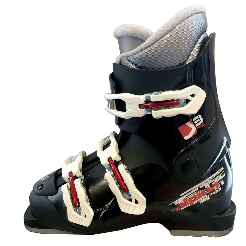 Alpina J3 Junior Ski Boots Black