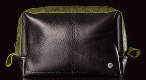 Men's Dopp Kit in Recycled Bicycle Tires - shopalmostheaven