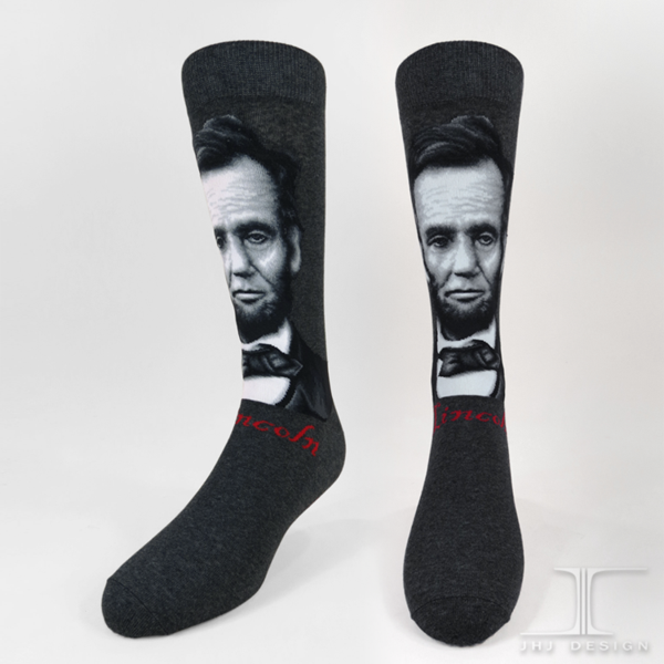 Abraham Lincoln Men's SOCKS - shopalmostheaven - 1