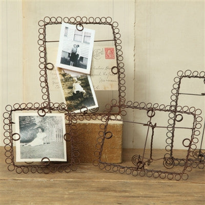 Wire Boulce Picture Frames - shopalmostheaven - 1