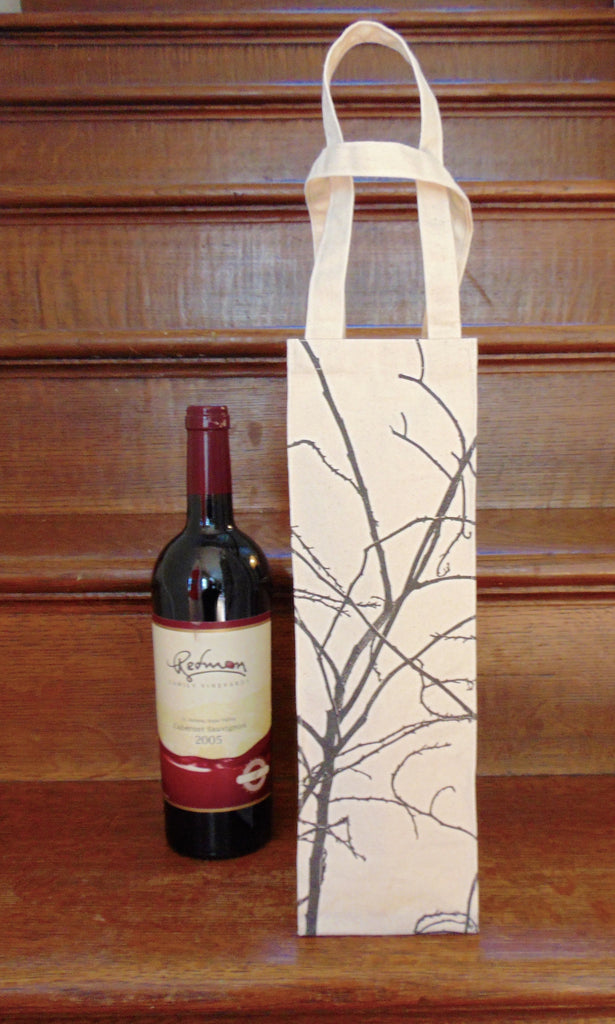 Screen Printed Wine Bag - shopalmostheaven