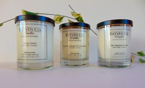 3 Assorted Scented Candles - shopalmostheaven
