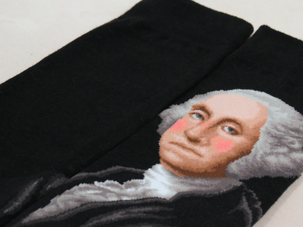 George Washington SOCKS - shopalmostheaven - 2