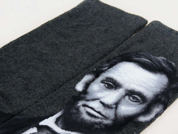 Abraham Lincoln Men's SOCKS - shopalmostheaven - 2