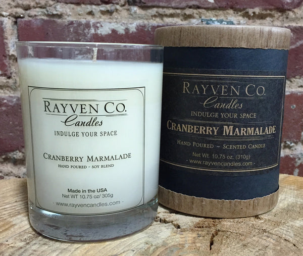 Cranberry & Marmalade Candle - shopalmostheaven