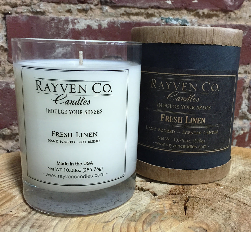 Fresh Linen Candle - shopalmostheaven