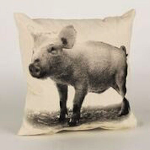 Decorative Pillow, Baby Piglet - shopalmostheaven