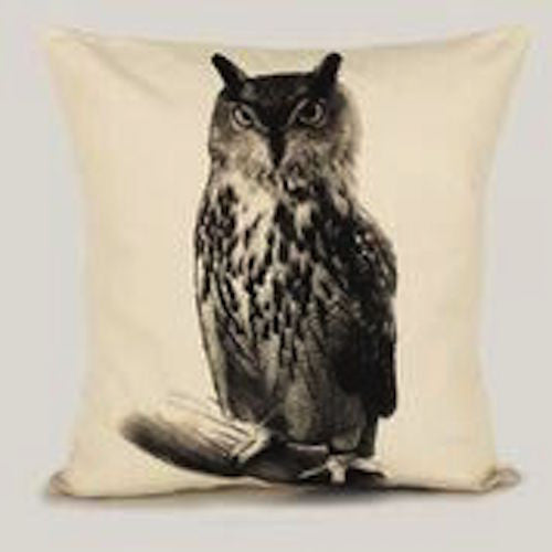 Owl Pillow Medium Size - shopalmostheaven