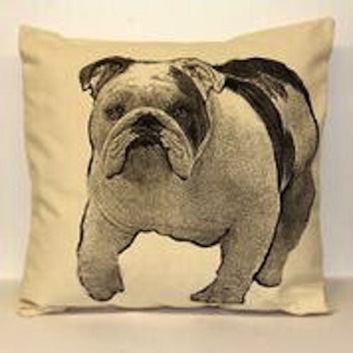 Bulldog Pillow Large - shopalmostheaven