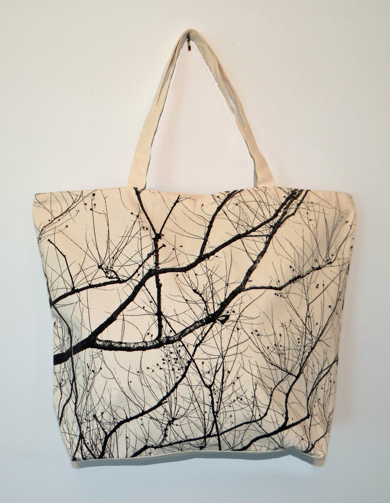 Screen Printed Vine Bag - shopalmostheaven