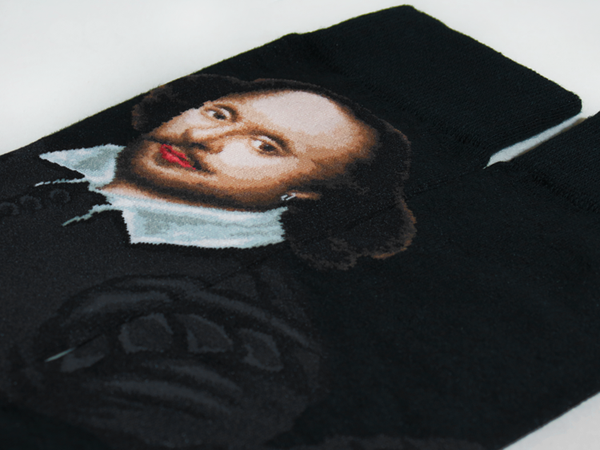 William Shakespeare Men's SOCKS - shopalmostheaven - 2