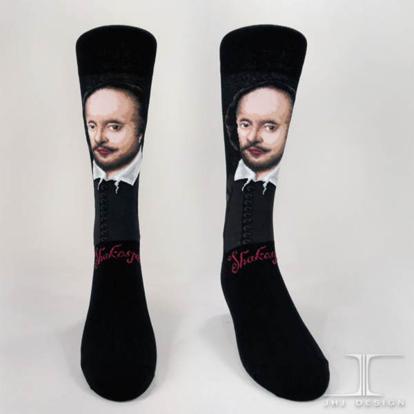 William Shakespeare Men's SOCKS - shopalmostheaven - 1