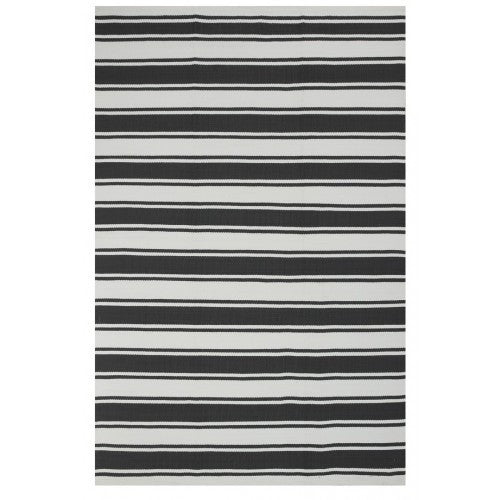Indoor/Outdoor Rug Grey/White - shopalmostheaven