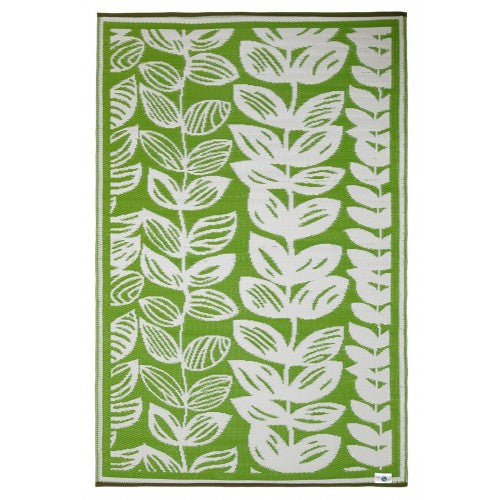 Indoor/Outdoor Rug Green/Cream - shopalmostheaven - 1
