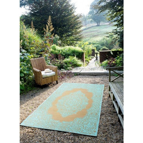 Indoor/Outdoor Rug Aqua - shopalmostheaven - 1