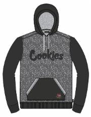 "Cookies ""Oxford"" French Terry Colorblocked Hoodie"