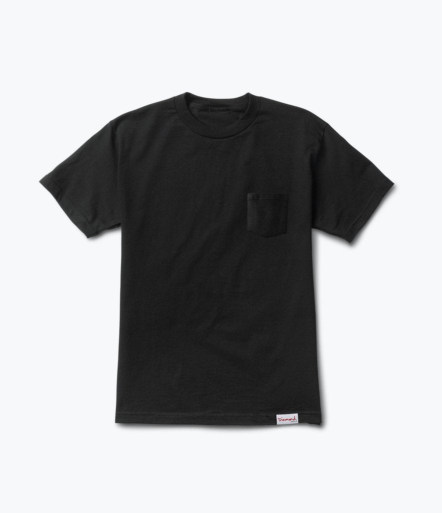 "Diamond ""Supplier Pocket"" Tee (Black)"