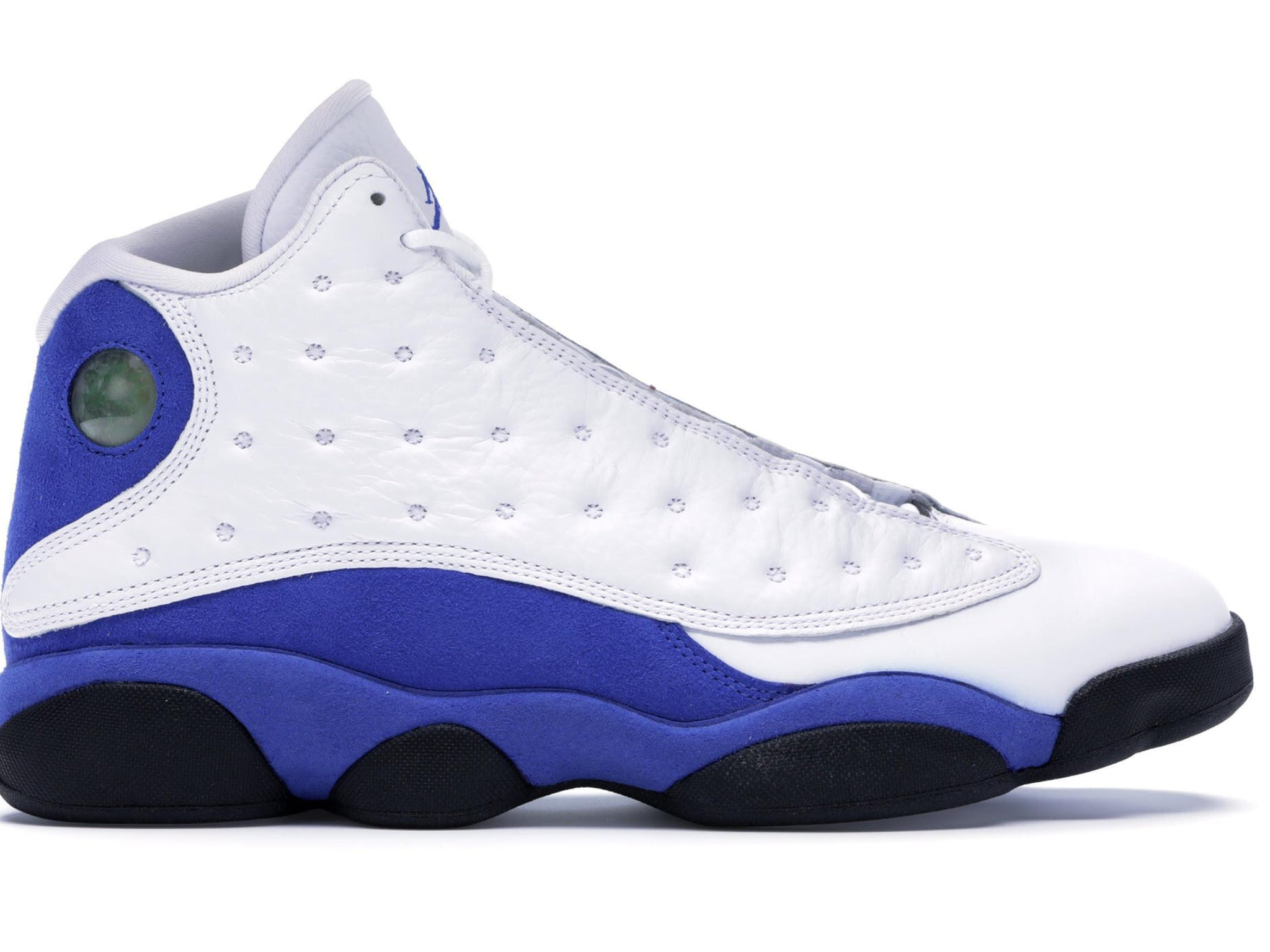 "Air Jordan Retro 13""White hyper royal black"""