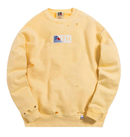"Kith x ""Russell Athletic Vintage"" x Crewneck x Golden Haze"