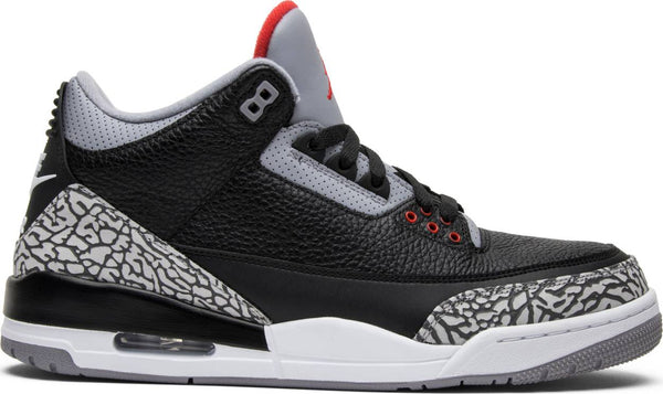 "Air Jordan Retro 3 ""Black Cement"" (2018)"