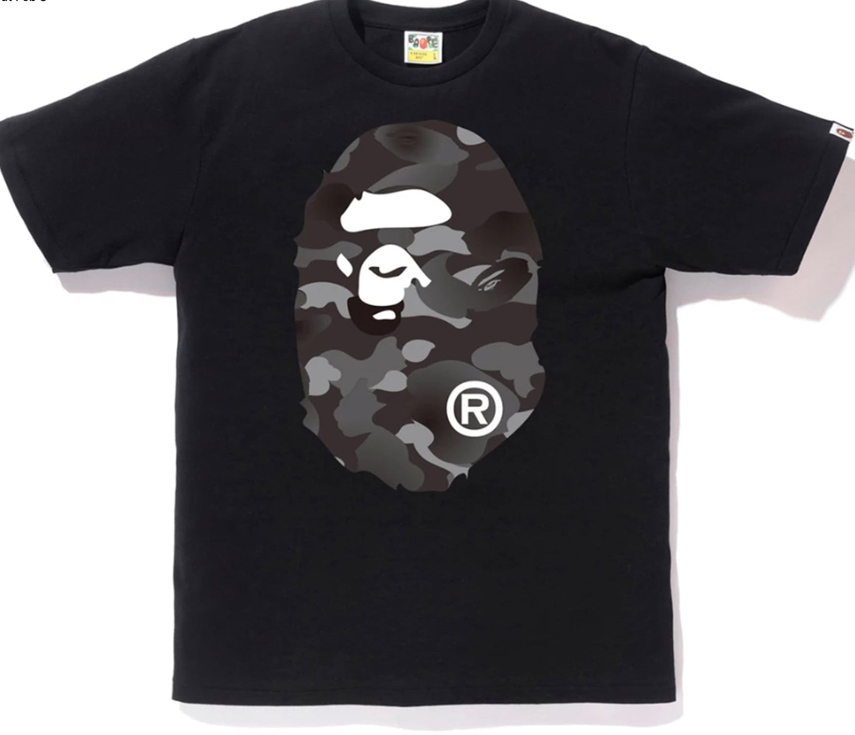 "BAPE ""Dot Camo Big Ape"" Tee"