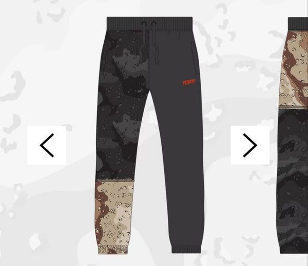 "Ten Deep ""Day and Night"" Pieced Sweatpants"