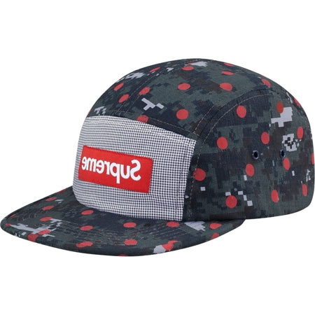 "Supreme ""CDG Shirt"" Camp Cap"
