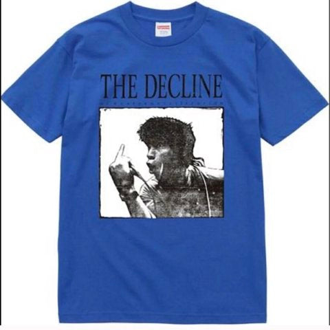 "Supreme ""The Decline Of Western Civilization"" Tee"
