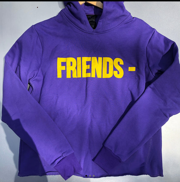 "Vlone ""Friends"" Hoodie x Large x Purple"