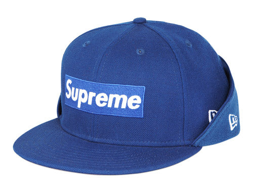 "Supreme x New Era ""Fleece Box Logo"" Fitted Cap"